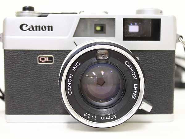 キヤノン Canonet QL17 40mm 1:1.7