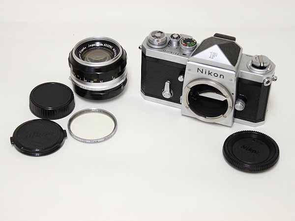 Nikon F アイレベル 718万番台 50mm f1.4付