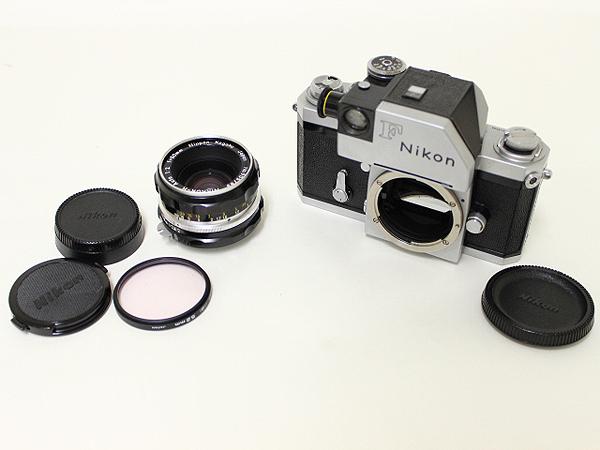 Nikon F フォトミック 前期型651万番台 50mm f2付