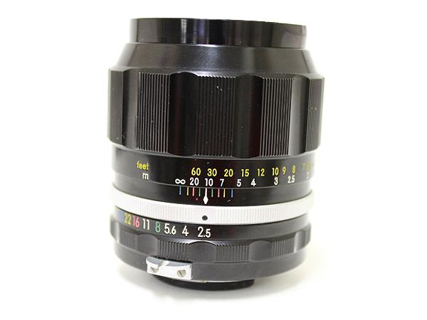 ニコン NIKKOR-P Auto 1:2.5 f=105mm