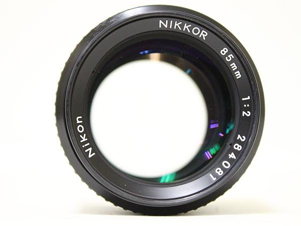 ニコン Nikon NIKKOR 85mm 1:2 レンズ