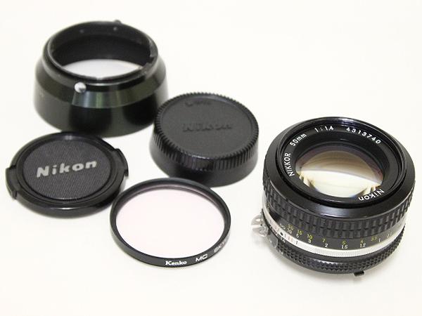 ニコン Nikon NIKKOR 50mm 1:1.4  レンズ