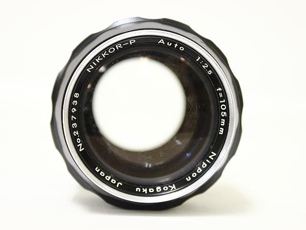 ニコン NIKKOR-P Auto 1:2.5 f=105mm レンズ