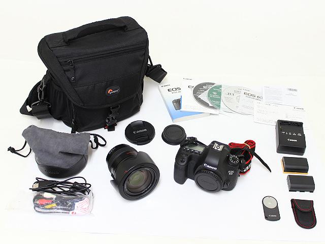 キヤノン EOS 6D(WG) レンズキット EF24-105L IS UFM