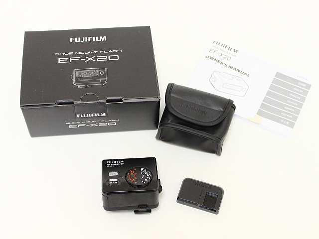 FUJIFILM EF-X20 クリップオンフラッシュ