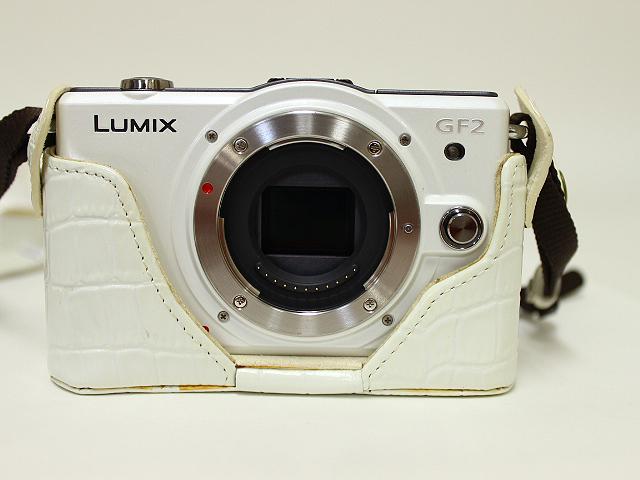 パナソニック Lumix DMC-GF2W-W Wレンズキット