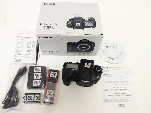 キヤノン EOS7D マークⅡ (G) 買取